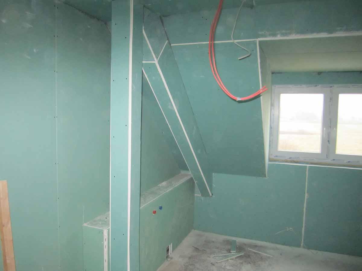 Innenausbau-Feuchtraumplatten